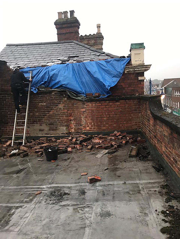 Repairing Roofing